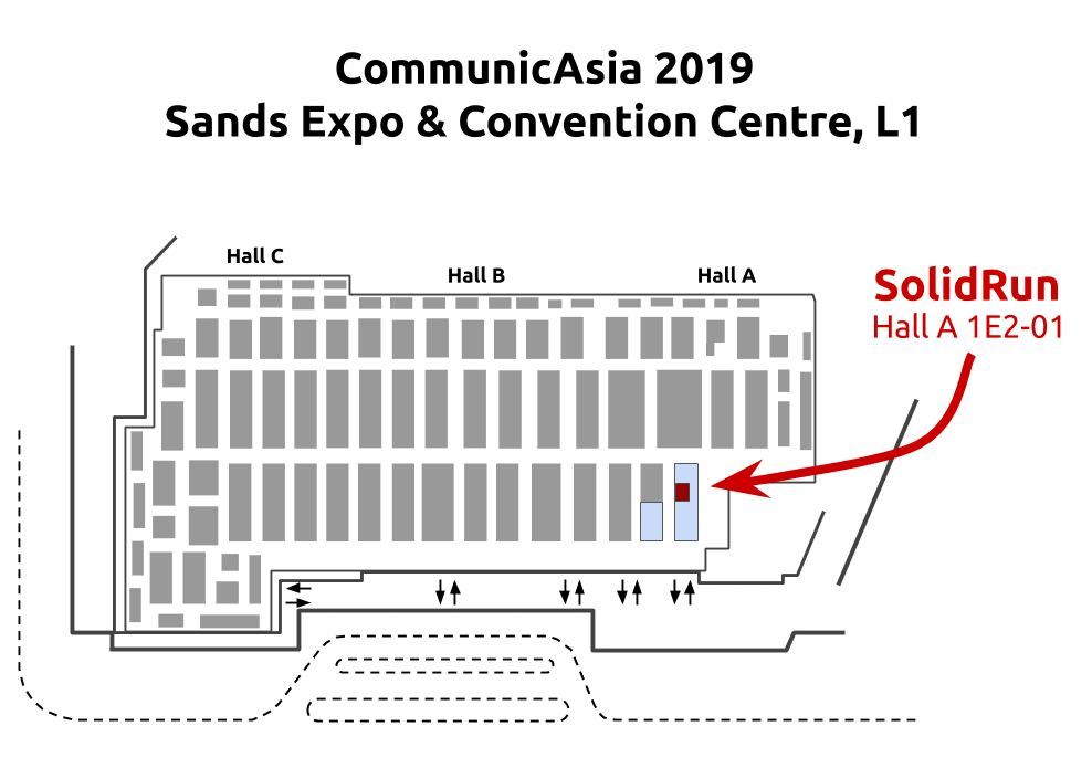 ComAsia2019 stand map