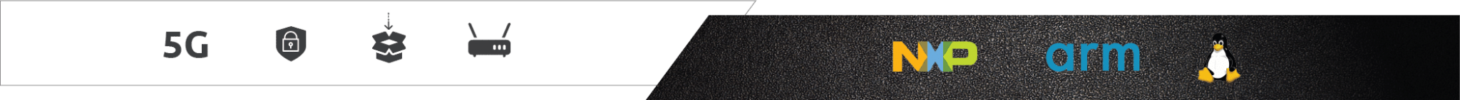 nxp netwoking logo bar