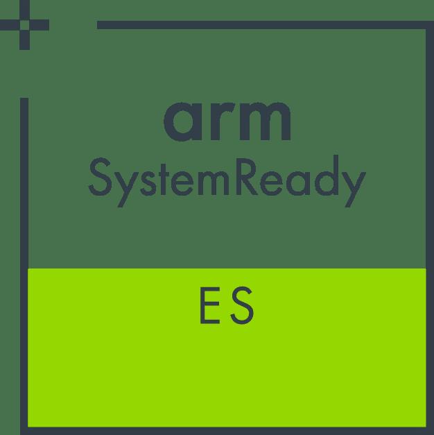Arm SystemReady ES logo