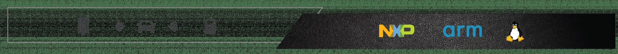 v to x logo bar NXP imx8l